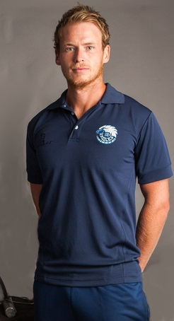 eagle navy polo