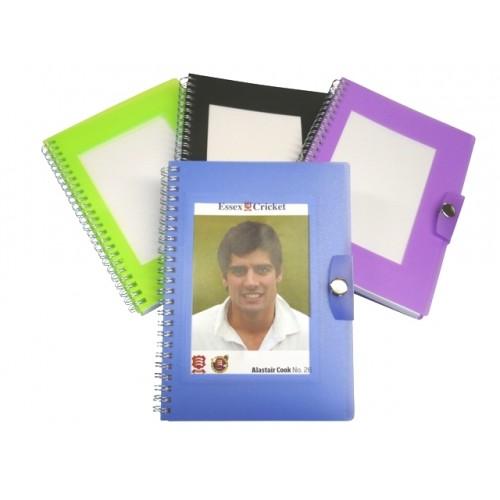postcard notebook
